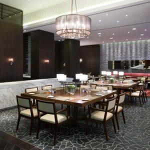 Профессиональное ресторанное оборудование для заведений HoReCa. Отель Hilton 5*, ресторан «All Dining Restaurant», Киев. На фото интерьер зала ресторана.