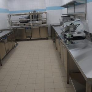 Оборудование для ресторанов, кафе, баров. Отель Hilton 5*, ресторан «All Dining Restaurant», Киев. На фото холодильное оборудование Electrolux Professional.