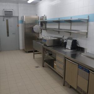 Кухня ресторана с профессиональным оборудованием от Profitex. Отель Hilton 5*, ресторан «All Dining Restaurant», Киев. На фото оборудование Electrolux Professional.