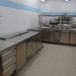 Специализированное кухонное оборудование для HoReCa. Отель Hilton 5*, ресторан «All Dining Restaurant», Киев. На фото холодильное оборудование Electrolux Professional.