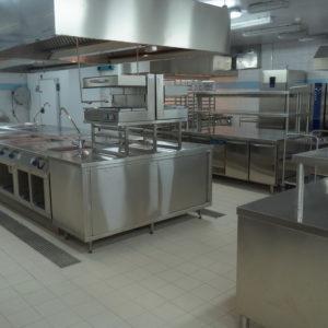 Профессиональное кухонное оборудование для HoReCa. Отель Hilton 5*, ресторан «All Dining Restaurant», Киев. На фото тепловой технологический остров TermaLine Electrolux Professional.