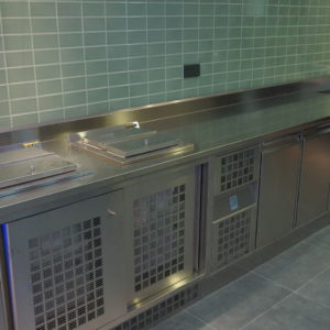 Кухонное оборудование для ресторанов и кафе. Отель Hilton 5*, ресторан «All Dining Restaurant», Киев. На фото холодильное оборудование.