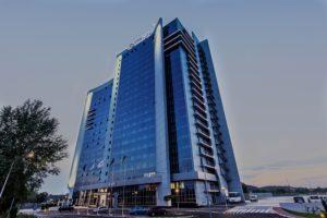 Оснащение ресторана и химчистки-прачечной группой компаний Profitex. Отель Ramada Encore Kiev, Киев.