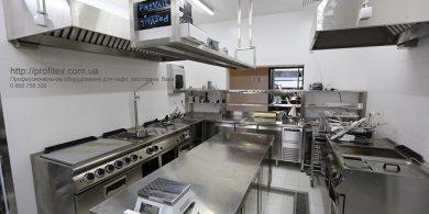 Все виды кухонного оборудования для ресторанов, баров, кафе. Отель Ibis Вокзал, Украина, Киев. На фото тепловое и холодильное оборудование MODULAR Италия.
