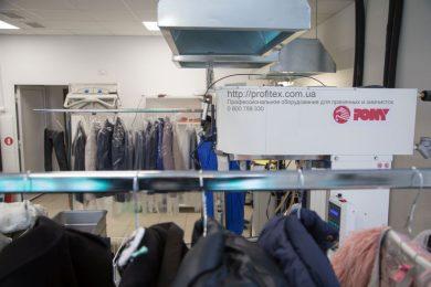 Профессиональное оборудование для прачечной, химчистки и аквачистки. Химчистка Аквачистка BOLLA, Украина, Киев. На фото пароманекен для верхней одежды PONY Италия.