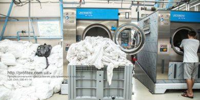 Открыть прачечную с оборудованием JENSEN. Индустриальная прачечная. На фото профессиональные стиральные машины JENSEN JWE 110/250.