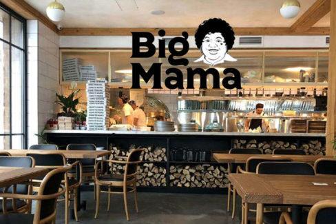 Печи для пиццы и выпечки для ресторанов, кафе и предприятий общественного питания. Пиццерия Big Mama, Украина, Днепр. На фото открытая кухня пиццерии.