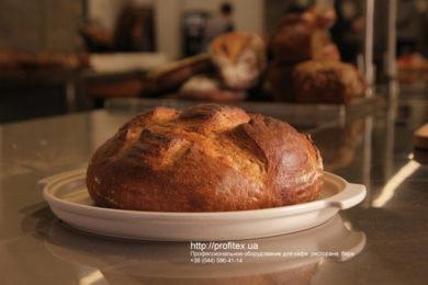 Оборудование для пекарен и производства хлебобулочных изделий. Мастер-класс ВСЕ О РЖАНОМ ХЛЕБЕ 10-11 февраля 2020, Киев. На фото ржаной хлеб, испеченный на мастер-классе.
