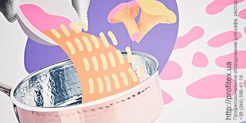 Холодильное оборудование Coldline для профессиональной кухни ресторана, кафе. Шоу кухня на сцене конгресса шеф поваров FONTEGRO, Киев. На фото выступление Eduard Xatruch.