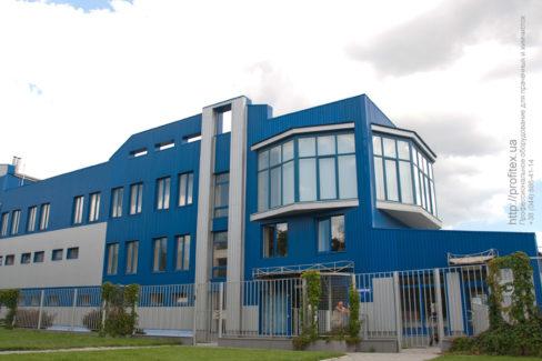 Оборудование для прачечных и химчисток. «Стиросервис», промышленный прачечный комплекс, Одесса. На фото здание комплекса.